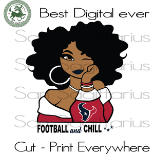 Houston texanss Melanin 2019 SVG Files For Silhouette, Cricut Files, SVG DXF EPS PNG Instant Download