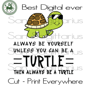 Turtle Lover Svg, Turtle Vector Clipart, Turtle Girl, Turtle mom, Turtle svg, Save The Turtles, Turtle Cut Files, sea Animals SVG Files For Cricut Silhouette Instant Download | San Sagittariu