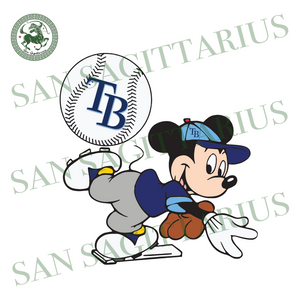 Tampa Bay Rays And Mickey, Sport Svg, MLB Baseball Svg, MLB Svg, MLB Sport, Tampa Bay Rays Svg, Tampa Bay Rays Baseball, Mickey Svg, Mickey Sport, Tampa Bay Rays Fan, Tampa Bay Rays Logo, Bas
