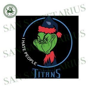 Tennessee Titans Logo With Grinch, Sport Svg, NFL Football Svg, NFL Svg, NFL Sport, Tennessee Titans Svg, Tennessee Titans Lover, Football Svg, Football Lover, Grinch Svg, Grinch Sport