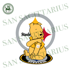 The Pooh Steelers Svg, Sport Svg, Winnie The Pooh, The Pooh Football Svg, Pittsburgh Steelers Svg, Steelers Football, Pittsburgh Steelers Logo Design, Pittsburgh Cute Shirt, Nfl Gift Ideas, P