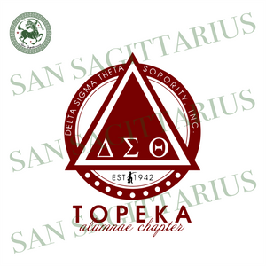 Topeka, Sorority Svg, 1942, Delta Sigma Theta, EST 1942, Sigma Theta Gifts, Sigma Theta Svg, Theta Sigma Shirt, Sorority Gift, 1913 Svg, Sigma Sorority Gift, Sigma Theta Sign, Women Fashion,