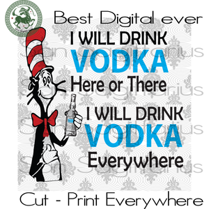 Vodka Wine, Drinking Team Svg, Dr Seuss, Dr Seuss Cut File, Dr Seuss SVG Files For Silhouette, Cricut Files Instant Download | San Sagittarius