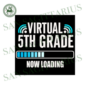 Virtual 5th grade svg,svg,virtual teacher svg,virtually anything svg,teacher gift svg,svg cricut, silhouette svg files, cricut svg, silhouette svg, svg designs, vinyl svg