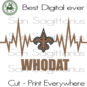 NFL NEW ORLEANS Saints Logo, Saints Logo, Saints Football, Football Saints SVG Files For Cricut Silhouette Instant Download | San Sagittarius