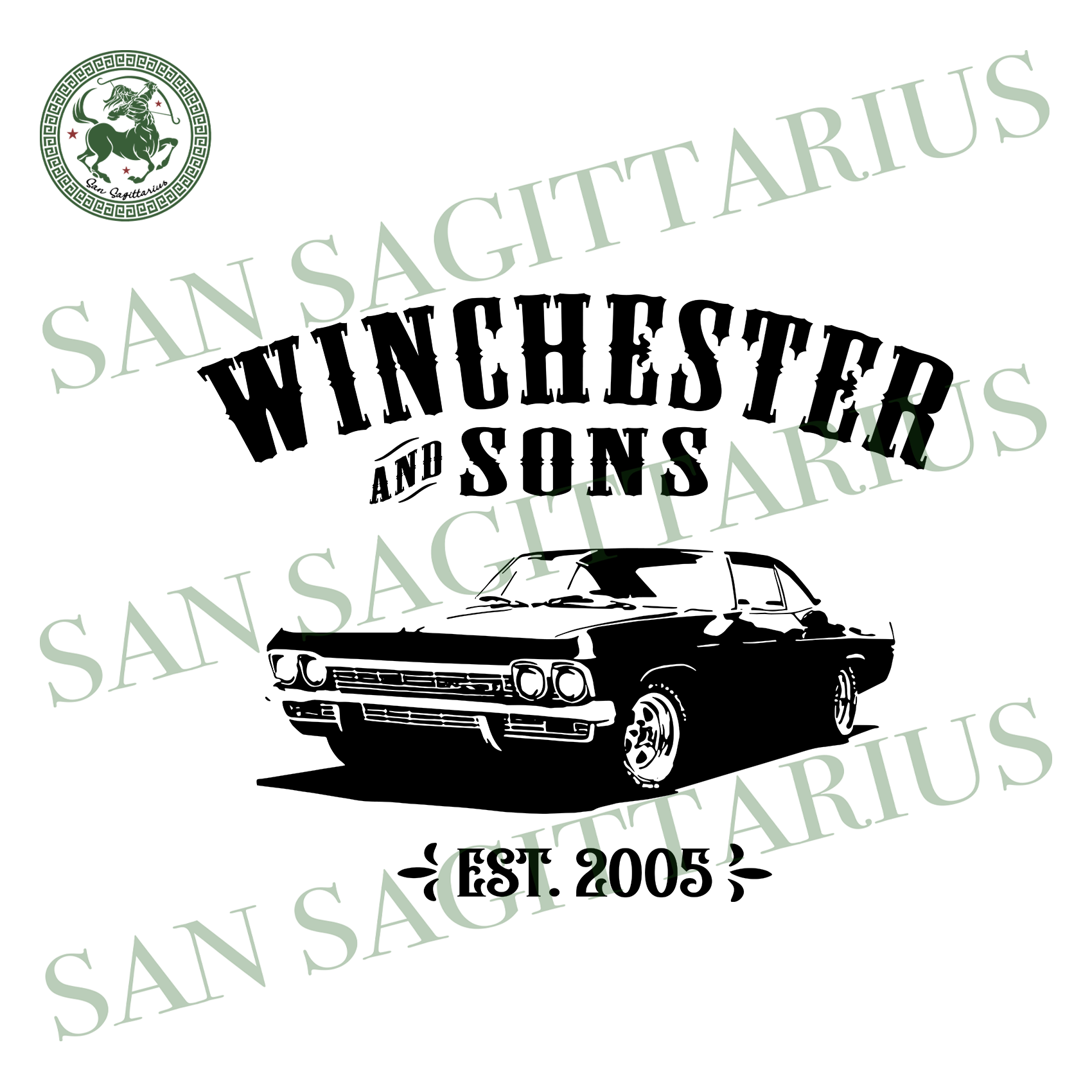 Winchester and sons svg,svg,women supernatural svg,bobby singer svg,sam winchester svg,dean winchester svg,svg cricut, silhouette svg files, cricut svg, silhouette svg, svg designs, vinyl svg