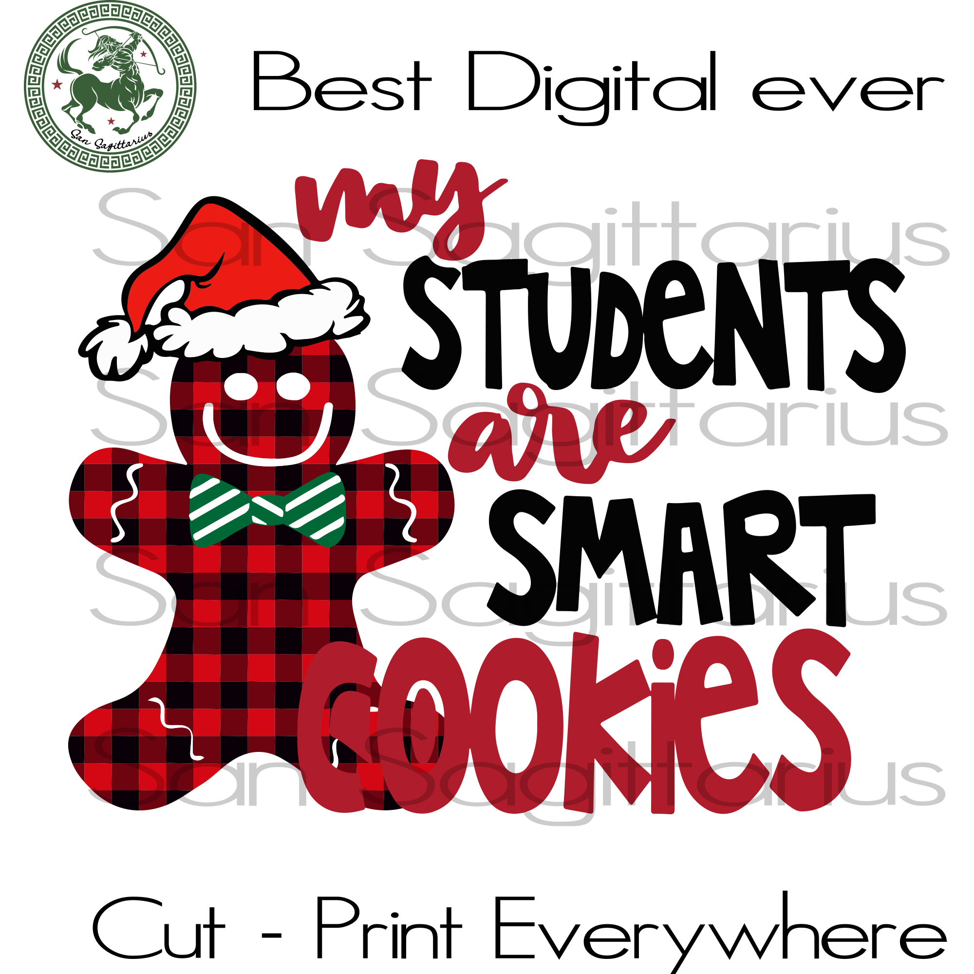 My Student Are Smart Cookies, Christmas Svg, Bear Christmas, Christmas Gifts, Merry Christmas, Christmas Holiday, Christmas Party, Funny Christmas, Xmas Gift, Christmas Gift Ideas, Merry Chri