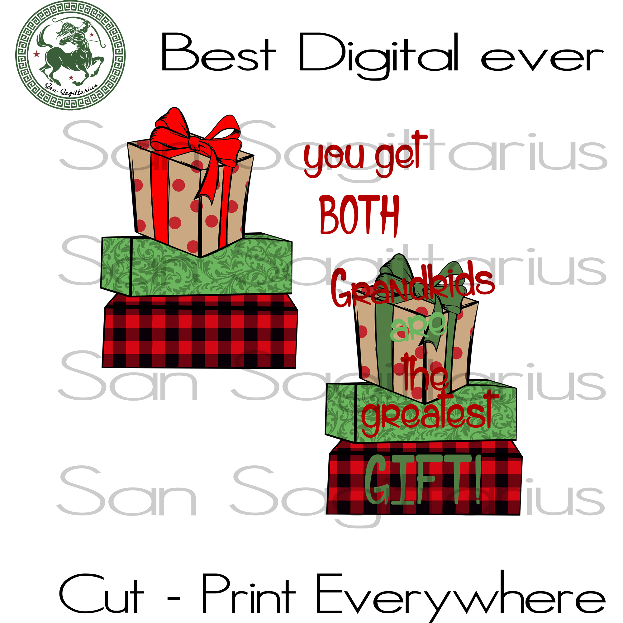 You Get Both Grandkids Are The Greatest Gift, Christmas Svg, Christmas Gifts, Merry Christmas, Christmas Holiday, Christmas Party, Funny Christmas, Xmas Gift, Christmas Gift Ideas, Merry Chri