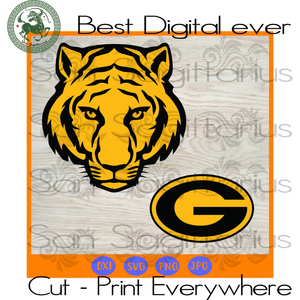 Green bay Packers Tiger Logo, Packers Logo Svg, Packers Svg, Packers Logo, Packers Football, Packers Shirt, Football Mom, Football Lover Gift, Nfl Svg, Football Svg File, Football Logo, Nfl F