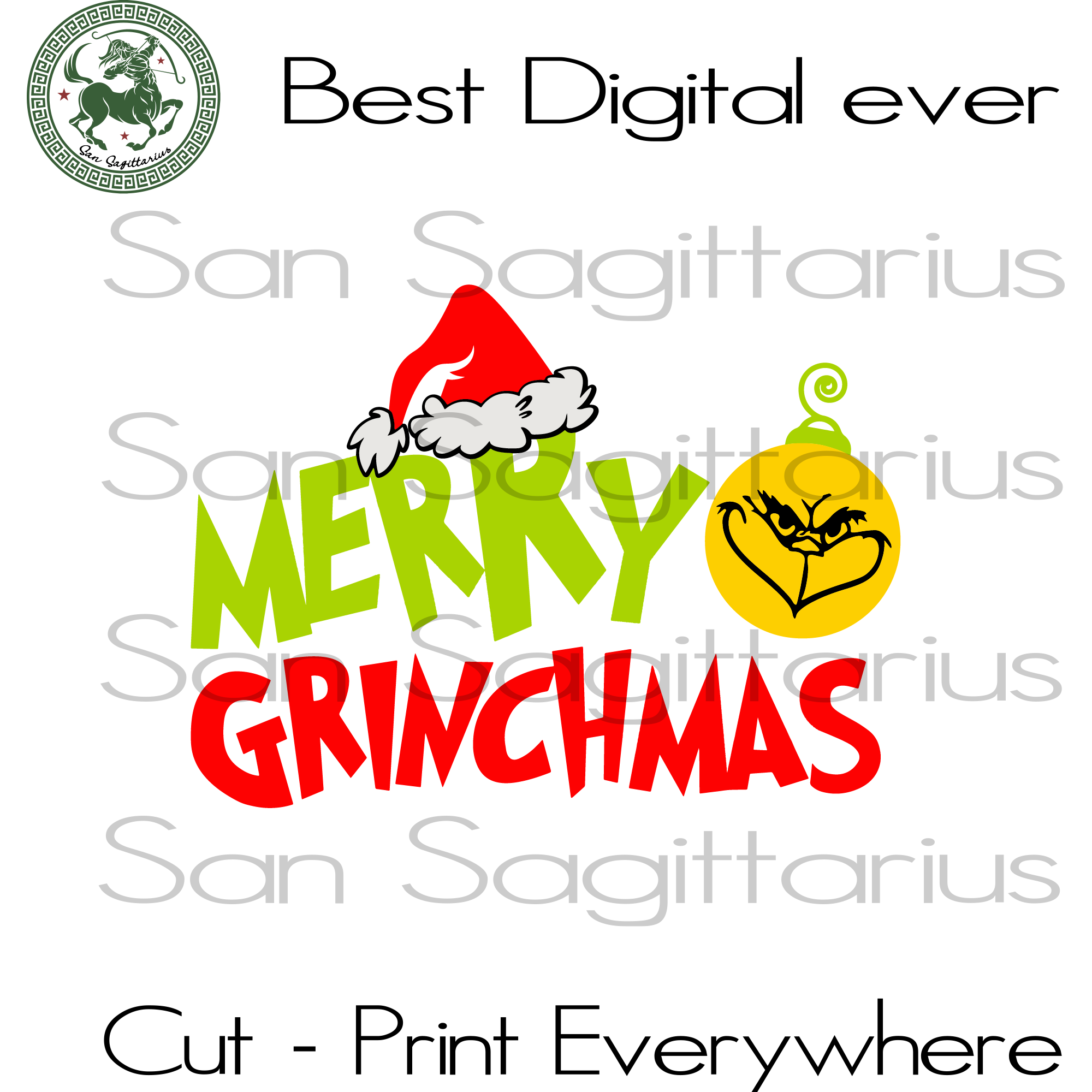 Merry Grinchmas, The Grinch Svg, Christmas Svg, Christmas Grinch Svg, The Grinch, Grinch Svg, The Grinch Lover Svg, Grinch Cut File, Grinch Christmas, Grinch Lover Svg, Christmas Gift, Christ