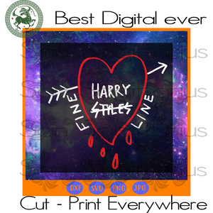 Harry styles fine line svg, harry styles, Alessandro Michele fine, line black  Bestie Gift SVG Files For Cricut Silhouette Instant Download | San Sagittarius