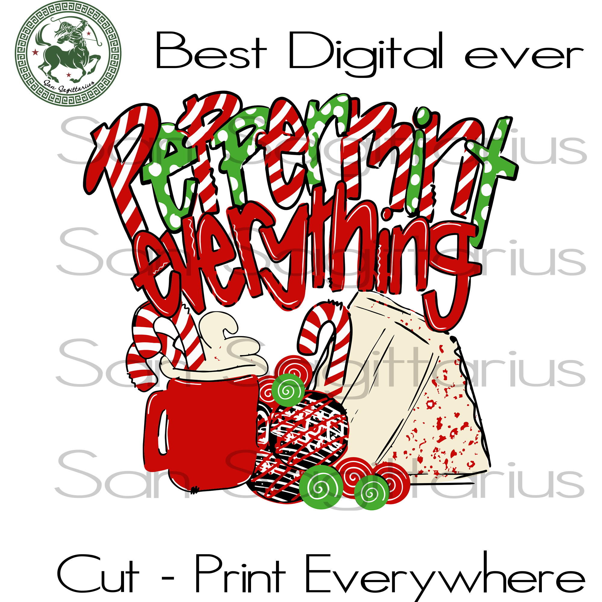 Peppermint Everything, Christmas Svg, Christmas Gifts, Merry Christmas, Christmas Holiday, Christmas Party, Funny Christmas, Xmas Gift, Christmas Gift Ideas, Merry Christmas Svg, Holidays, Ch