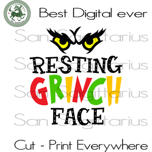 Resting Grinch Face, The Grinch Svg, Christmas Svg, Christmas Grinch Svg, The Grinch, Grinch Svg, The Grinch Lover Svg, Grinch Cut File, Grinch Christmas, Grinch Lover Svg, Christmas Gift, Ch