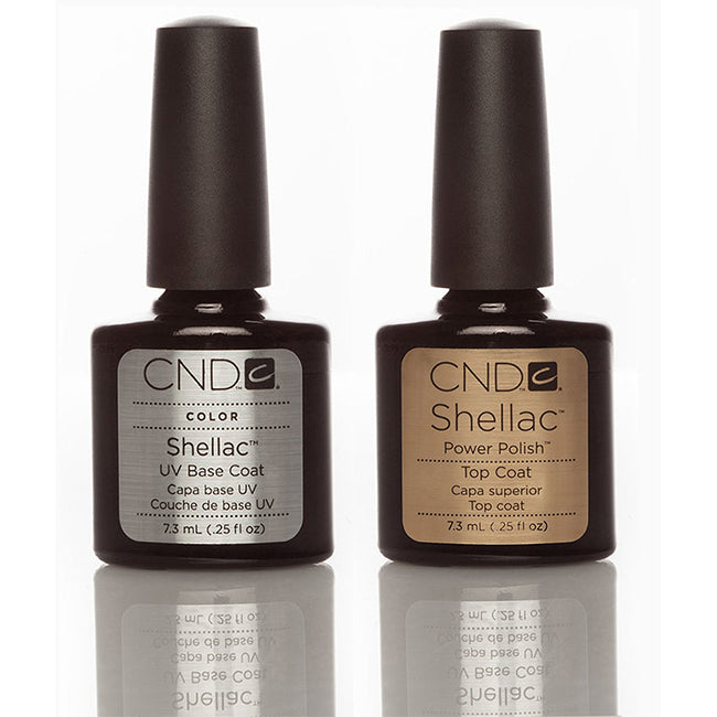 CND Shellac Duo Top Base Set 0.5Oz