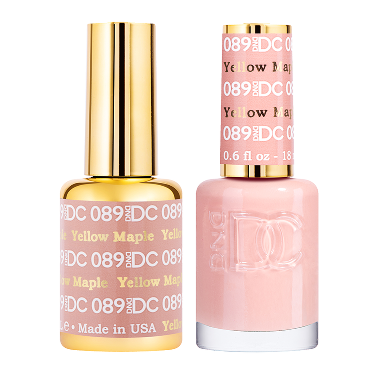 DND DC DUO GEL - #089 YELLOW MAPLE