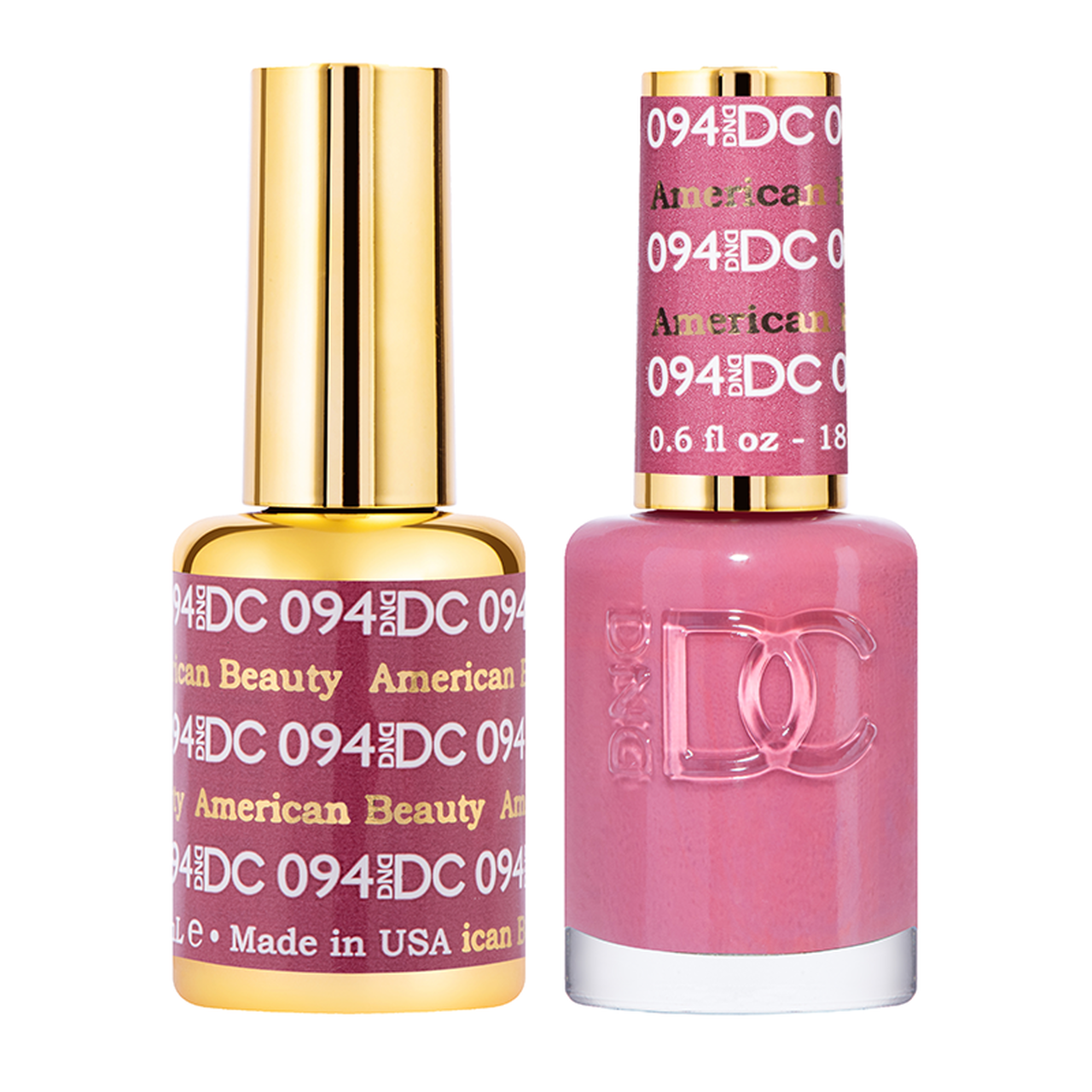 DND DC DUO GEL - #094 AMERICAN BEAUTY