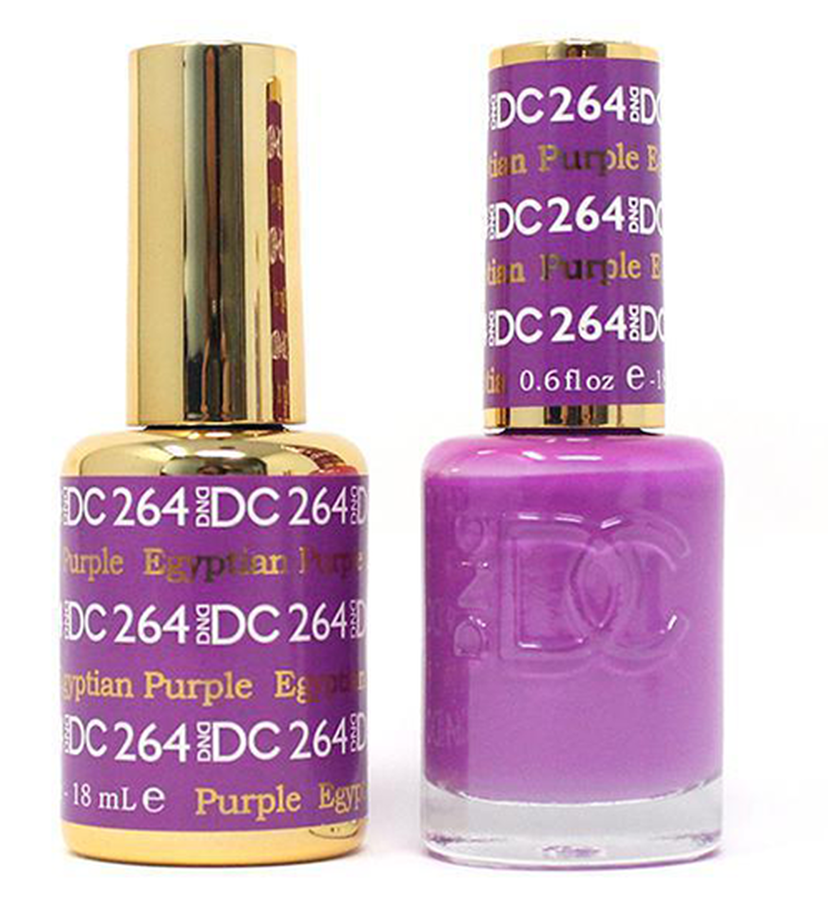 DND DC DUO GEL - #264 EGYPTIAN PURPLE