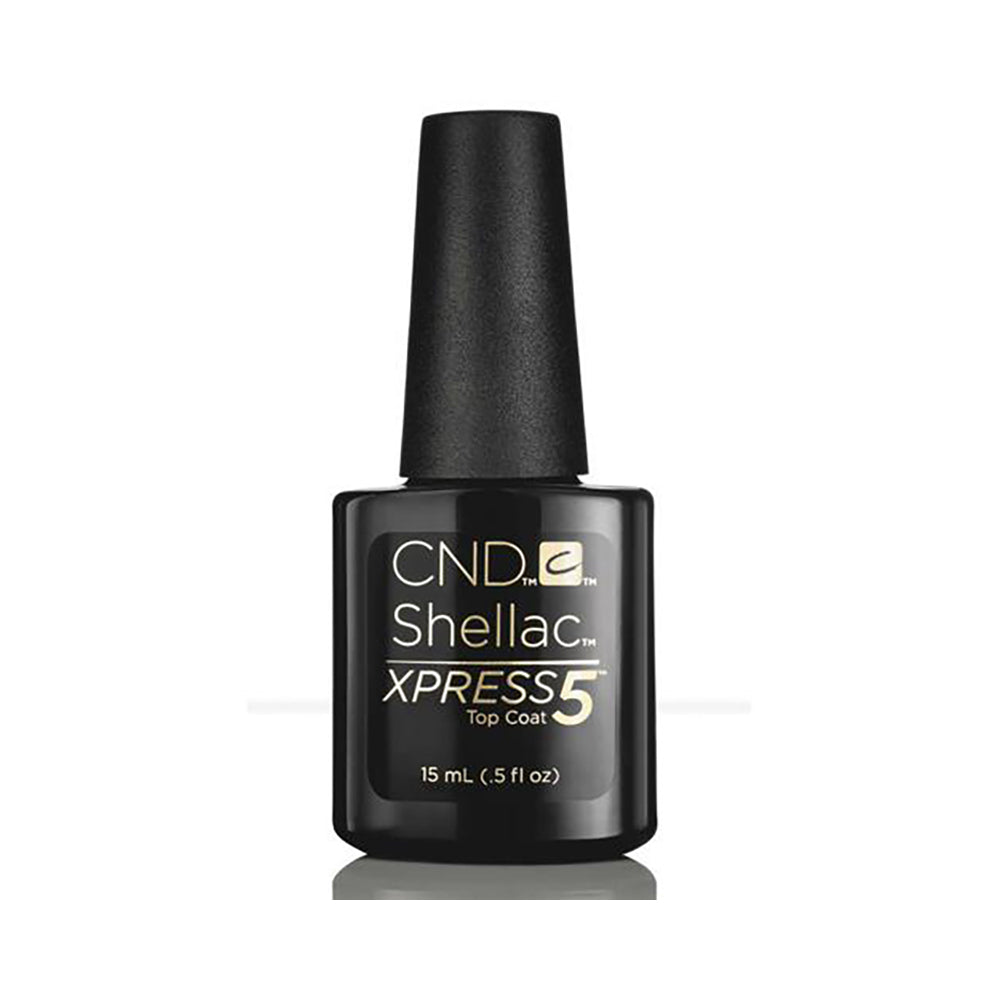 CND Shellac Xpress5 Top Coat 0.5Oz
