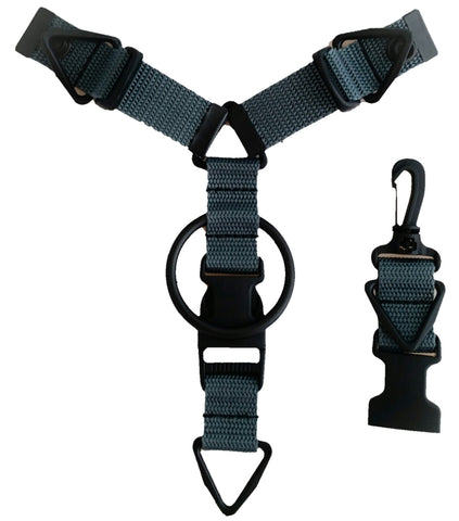 Accessory Hanger - Charcoal - Snap-Hookz Golf