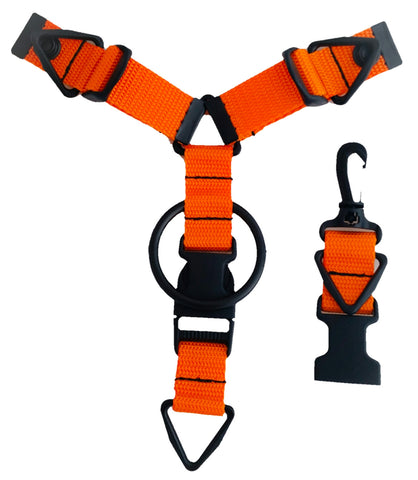 Accessory Hanger - Orange - Snap-Hookz Golf