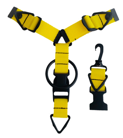 Accessory Hanger - Yellow - Snap-Hookz Golf
