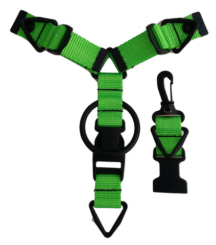 Accessory Hanger- Lime Green - Snap-Hookz Golf