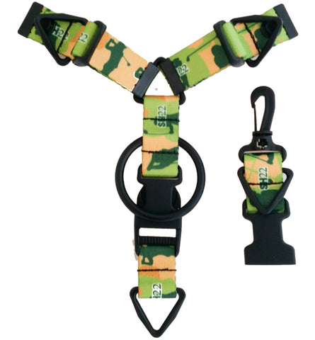 ***Original Art SH22 Accessory Hanger - Golf Camo Design - Snap-Hookz Golf