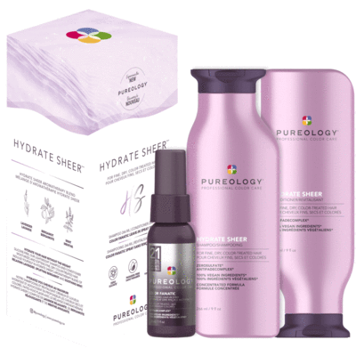 coffret hydrate sheer Pureology