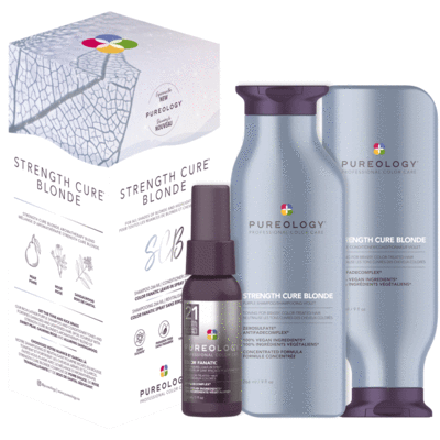 coffret strengh cure best blonde Purelogy