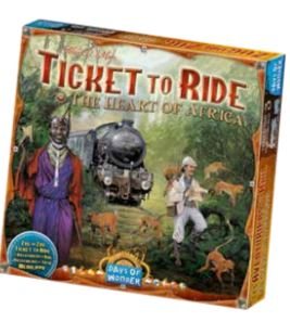 Ticket To Ride: Map Collection V3 - The Heart of Africa