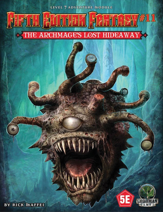 5th Edition Fantasy: #11 The Archmage`s Lost Hideaway