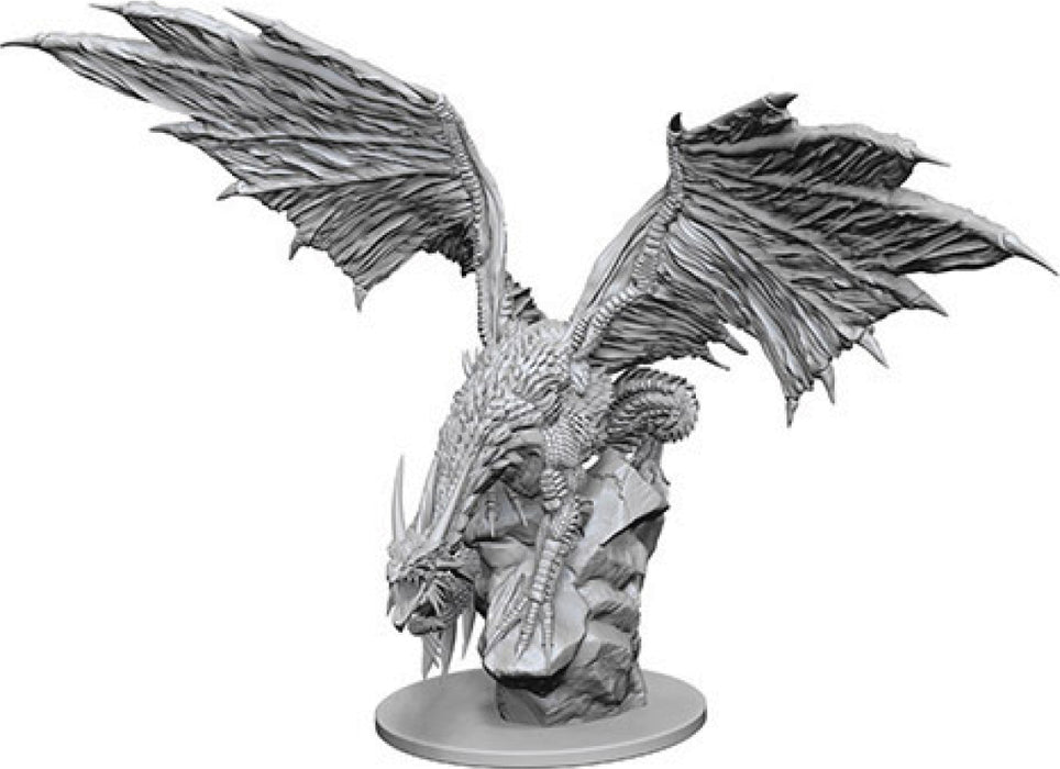 Pathfinder Deep Cuts Unpainted Miniatures: W4 Silver Dragon