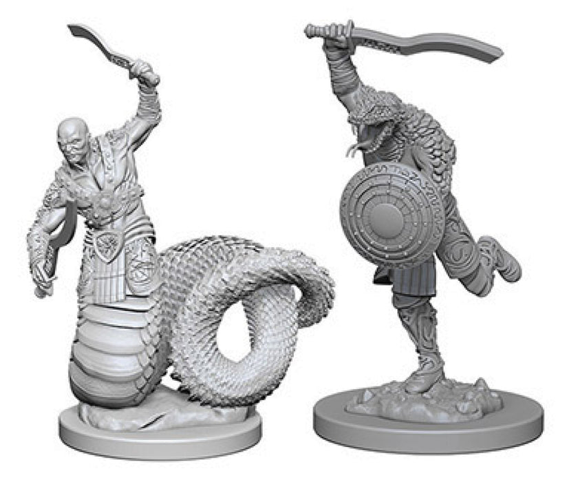 Dungeons & Dragons Nolzur`s Marvelous Unpainted Miniatures: W4 Yuan-Ti Malisons