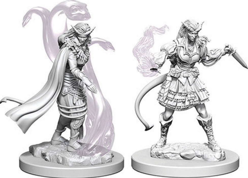 Dungeons & Dragons Nolzur`s Marvelous Unpainted Miniatures: W4 Tiefling Female Sorcerer