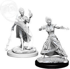 Dungeons & Dragons Nolzur`s Marvelous Unpainted Miniatures: W5 Fire Genasi Female Wizard