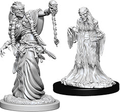 Dungeons & Dragons Nolzur`s Marvelous Unpainted Miniatures: W6 Green Hag & Night Hag