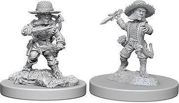Pathfinder Deep Cuts Unpainted Miniatures: W6 Halfling Male Rogue