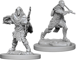 Dungeons & Dragons Nolzur`s Marvelous Unpainted Miniatures: W6 Male Elf Fighter