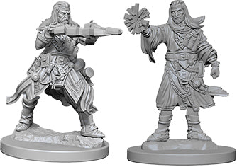 Pathfinder Deep Cuts Unpainted Miniatures: W6 Male Human Wizard
