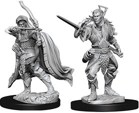 Dungeons & Dragons Nolzur`s Marvelous Unpainted Miniatures: W7 Elf Male Rogue