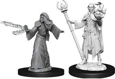 Dungeons & Dragons Nolzur`s Marvelous Unpainted Miniatures: W9 Male Elf Wizard