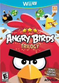 Angry Birds Trilogy - Wii U - in Case
