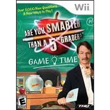 Are You Smarter Than a 5th Grader - Game Time - Wii - in Case