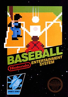 Baseball - NES - Loose
