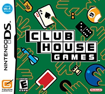 Clubhouse Games - DS - in Case