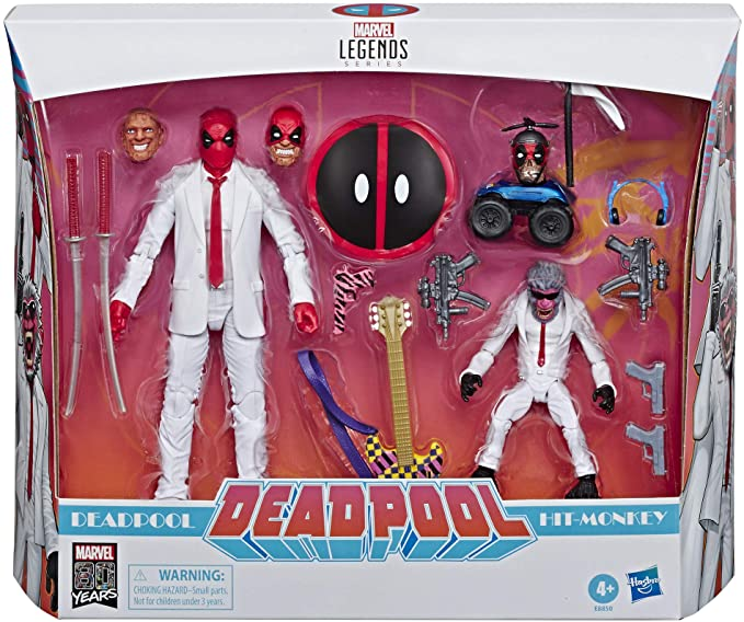 Marvel Legends - Deadpool & Hit Monkey - New