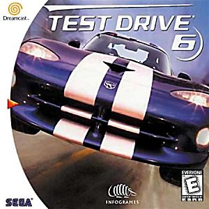 Test Drive 6 - Dreamcast - Complete