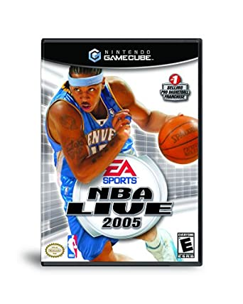 NBA Live 2005 - Gamecube - in Case