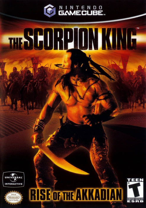 Scorpion King Rise of the Akkadian - Gamecube - in Case
