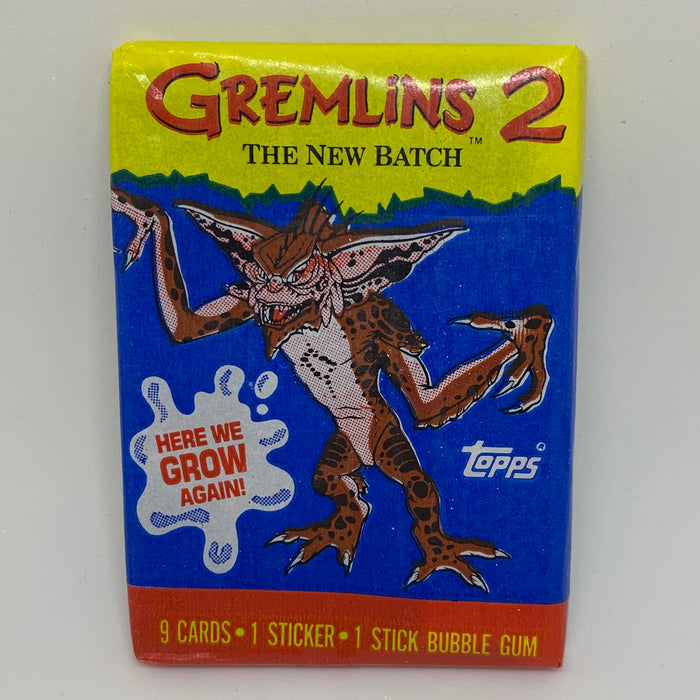 Gremlins 2 - The New Batch Trading Card Pack